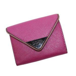 Rebecca Minkoff Purple Molly Metro Leather Wallet